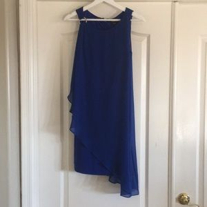 Bebe Cobalt Blue Dress
